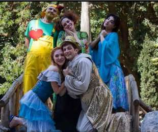 Η παιδική σκηνή ''Περίπατος'' παρουσιάζει την παράσταση: ''Ήλιος και Σελήνη! Ένα ταξίδι Αγάπης στο Σύμπαν!΄΄
